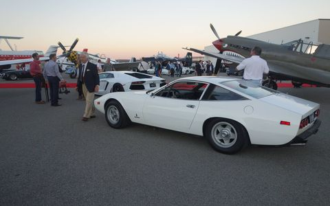 The Jet Party unofficially kicked off Monterey car week on Wednesday night.