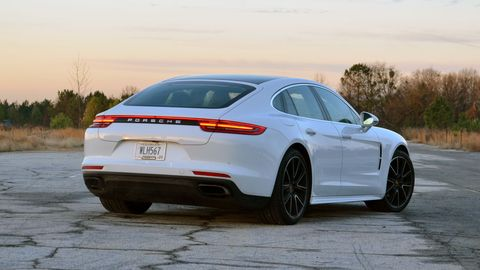 The 2019 Porsche Panamera comes with a twin-turbo V6 making 330 hp.