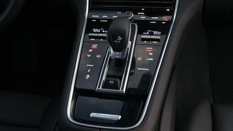 """The 2019 Porsche Panamera isn't whisper quiet inside, unless you spec the """"Thermally and Noise Insulated Glass"""" option."""