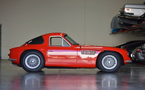 The first road-going Griffith is coming up for auction Nov. 30 on bringatrailer.com. It was a sort of Cobra pretender back in the early- to mid-60s, with a Ford V8 shoehorned into a TVR sports car.