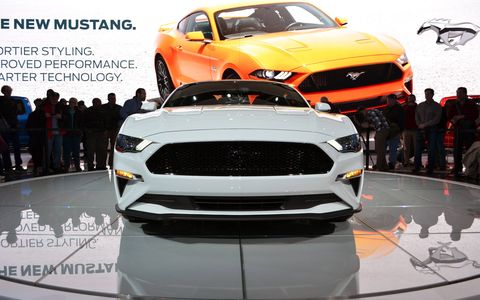 A new nose, revised taillights and an upgraded interior mark just a few changes coming to the 2018 Ford Mustang.
