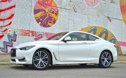 The 2017 Infiniti Q60 3.0t is one of the best-looking cars on the road.