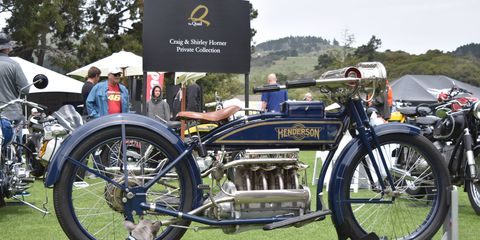 Over 3000 bikers and motorcycle fans descended on the greens of The Quail Lodge in Carmel May 5 for the 10th annual Quail Motorcycle Gathering. Here are some of the more than 350 bikes that made up the show.