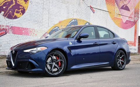 The 2017 Alfa Romeo Giulia Quadrifoglio is beautifully designed, tastefully styled, goes like hell and makes great noises (in race mode).