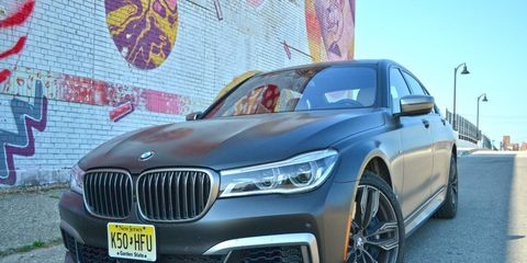 The 2017 BMW M760i is an elephant of a car and it feels like it behind the wheel, despite the 601 hp and 590 lb-ft of torque.