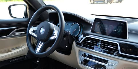The interior is also terrific. Build quality, fit and finish, space, comfort -- all nicely done.