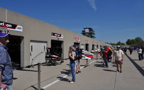 Check out photos of Indianapolis Motor Speedway before the Indy 500.