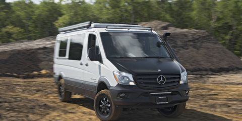 Mercedes-Benz is building a factory to build its commercial tier of cargo vans in the United States.
