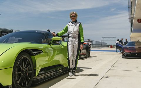 The Circuit of the Americas is a fine place to enjoy the Aston Martin Vulcan.