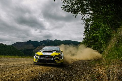 Scenes from the 2018 ARA Olympus Rally