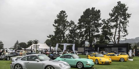 """Ruf -- the builder of Porsche-based supercars -- debuted its first CTR """"Yellowtail"""" after its restoration alongside a new CTR at the 2018 Quail."""