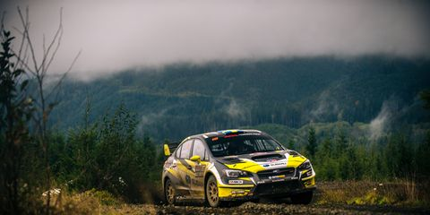 The Tour de Forest Rally was revived for 2018 after decades of dormancy.