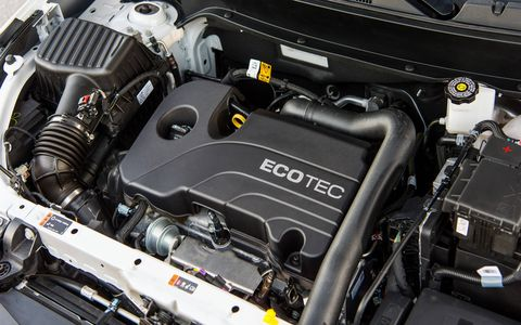The 1.5-liter engine develops 170 hp and 203 lb-ft of torque and is paired to a six-speed automatic.