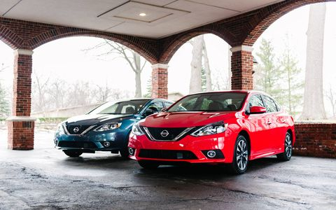 The 2016 Nissan Sentra had 1/3 of its parts replaced in the mid-cycle refresh. The 1.8-liter and Xtronic CVT remain.