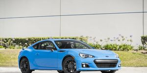2016 Subaru BRZ HyperBlue