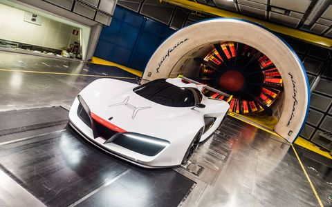 The Pininfarina H2 Speed Concept will tour the Italian concours and make a stop at the Turin motor show.
