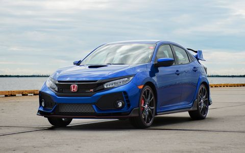 Bringatrailer.com is auctioning off the first 2017 Honda Civic Type R starting today.