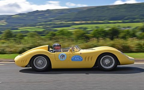 The Great West Tour of Elegance is the rally before the Concours of Elegance, winding through the hills and valleys of England and Wales, it celebrates the great driving roads and powerful cars that will be displayed a few days later at the Concours at Windsor.