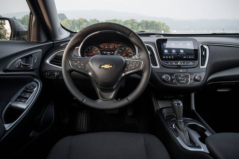Chevy didn't update the Malibu's interior styling for 2019, and it's starting to look dated and cheap compared to others in its class.