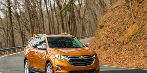 The Chevy Equinox is 400 pounds lighter and 4.7 inches shorter than the outgoing model.