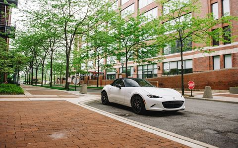 The 2016 Mazda Miata, arriving in July, is the quintessential roadster