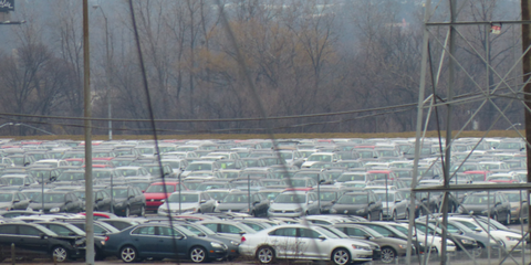 VW has been renting space to store tens of thousands of diesels it has bought back, but it can't store them forever.