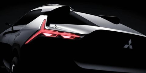 Mitsubishi is teasing their all-electric crossover ahead of the Tokyo Auto Show