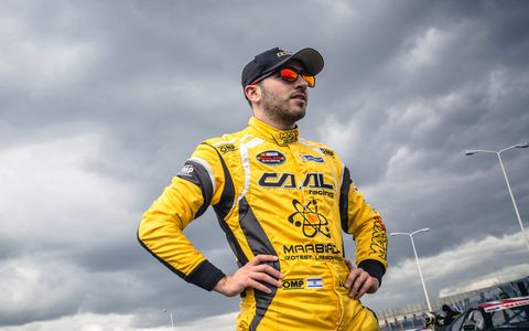 NASCAR Next hopeful Alon Day is hoping to one day make it from Israel to victory lane in the Monster Energy NASCAR Cup Series.