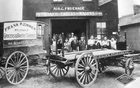 August Fruehauf's early shop.
