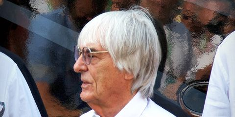 Ecclestone's mother-in-law, Aparecida Schunck, was freed by police yesterday after nine days in captivity.