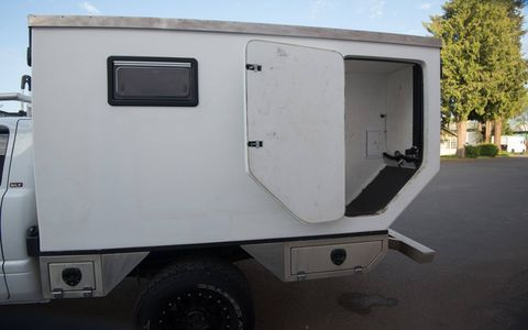 Based on a 2001.5 Dodge Ram 2500, this rig is modified to take you anywhere on solid ground.
