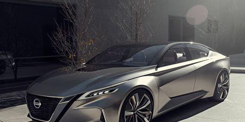 Nissan's latest concept makes a Detroit auto show debut.