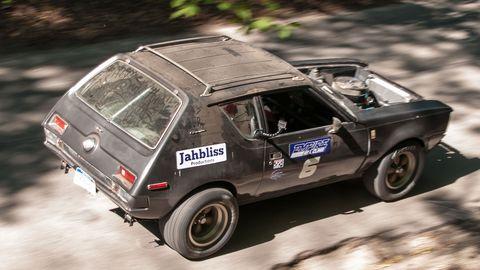 Ian Dawkins will be running this brutal 1973 AMC Gremlin.