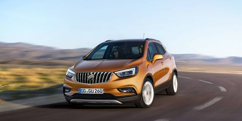 The Encore will receive a major midcycle refresh for the 2017 model year, and may look like our quick render based on the Opel Mokka X.