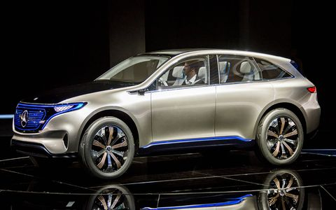 Mercedes debuted its new electric sub-brand at the Paris auto show, with the Generation EQ concept closely previewing a production electric crossover.