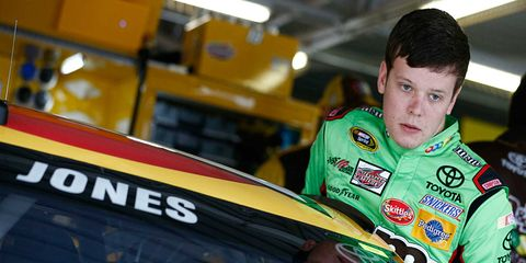 NASCAR Truck Series championship leader Erik Jones has been tabbed to replace the suspended Matt Kenseth