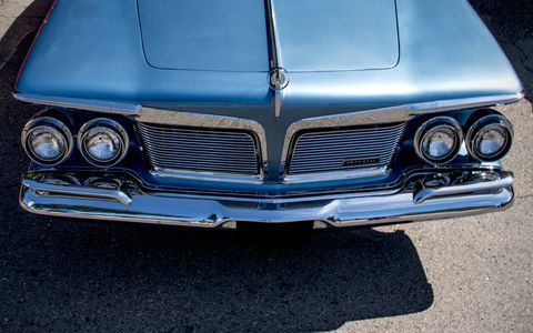 The 1962 Imperial LeBaron at Woodward Dream Cruise.