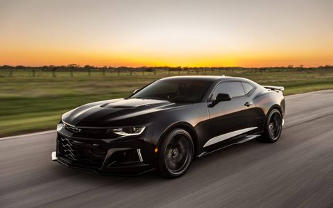 The Hennessey Exorcist is based on the Chevy Camaro ZL1 but makes 1,000 hp with a few serious upgrades.