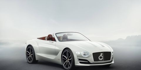 The Bentley EXP 12 Speed 6e was designed to gauge public interest.