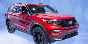 The 2020 Ford Explorer made its debut at the 2019 Detroit auto show.
