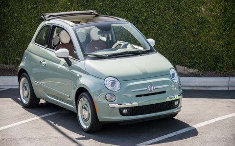The Fiat 500 1957 Edition will be offered in cabrio form starting this year.