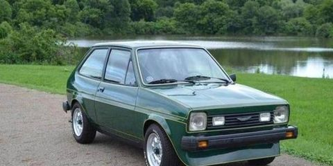 The 1978 Ford Fiesta by Healey prototype was built in U.S. spec.