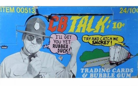 Fleer's line of CB Talk trading cards and bubble gum was a moderately nutritious way to learn CB lingo.