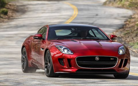 2016 Jaguar F-Type V6 Manual