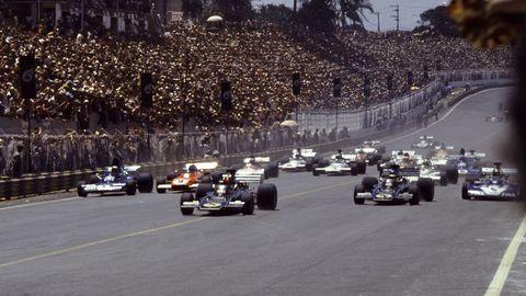 Emmo's getaway at Interlagos in '73
