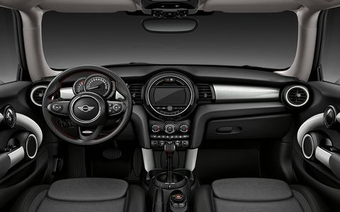 The 2014 Mini Cooper S Hardtop comes in at a base price of $24,395 with our tester topping off at $36,895.