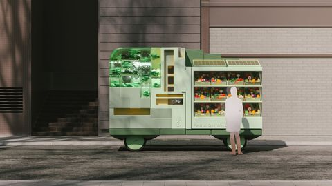 Farm concept. IKEA's Space10 has come up with several vehicle concepts designed to illustrate potential AVs in the age when everything is autonomous.