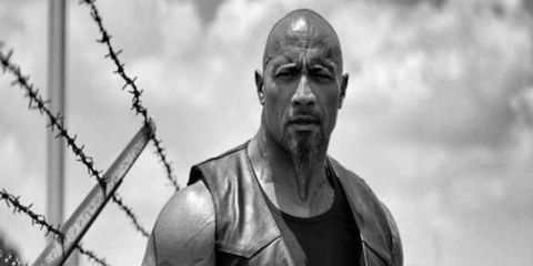 """Dwayne Johnson plays Luke Hobbs, a Diplomatic Security Service agent in the """"Fast"""" franchise. It looks like he'll be on the other side of the law in the next movie."""