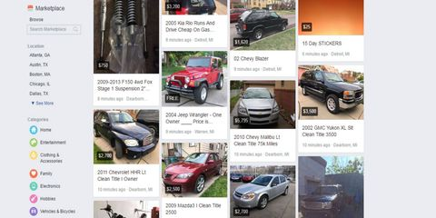 Could You Be Buying Your Next Car Through Facebook