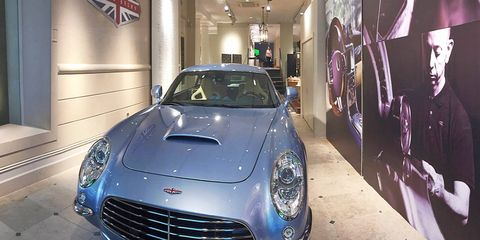 The Speedback GT debuted in 2014 and is available for ordering at this time. Provided you live in Europe.